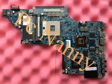 Original 665991-001 for HP DV7 DV7-6000 laptop motherboard Intel HM65 Non-Integrated DDR3 Full tested Free shipping