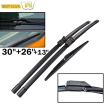 Misima Windshield Windscreen Wiper Blades For Ford S-Max Galaxy 2006-2015 Front Rear Window Wiper Blade 2007 2008 2009 2010 2011(China)