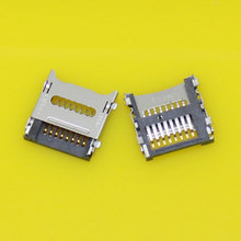 Micro SD+TF card socket reader holder tray slot connector for flip phone.(China)