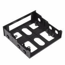 2017 New 3.5 to 5.25 inch Drive Bay Slot Computer Case Adapter Mounting Bracket USB Hub Floppy