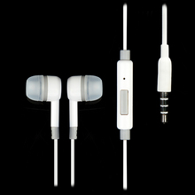 3.5mm IN Ear headset for xiaomi M2 M1 1S Samsung iPhone MP3 MP4 With microphone small portable earphone