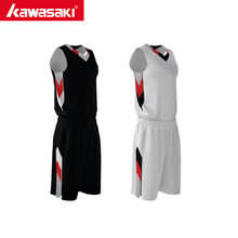 Kawasaki Brand Custom Reversible Basketball Jersey Mens Sports Uniforms Men Quick dry Basketball Uniform Sets Shorts(China)