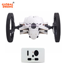 Global Drone RC Jumping Sumo Electric Bounce Car Flexible Wheel RC All Terrain Stunt Racing Car Remote Control Toys Gift for Kid(China)