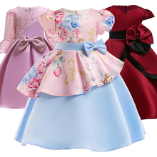 Buy 2018 Winter Tutu Wedding Girls Dress Toddler Kids Dresses Girls Vestidos Party Princess Dress Children Clothing 3 6 10 Years for $10.79 in AliExpress store
