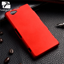 TAOYUNXI 10PCS/Lot UPlastic Case Cover For Sony Xperia Z1 Compact Phone Cases Covers D5503 Z1 Mini M51W 4.3inch Z1Mini Case Bag(China)