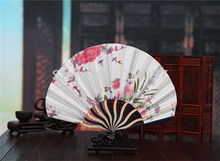 (150 pieces/lot) New Fancy event and party favors Different colors available Chinese folding fans Elegant wedding fans