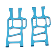 2Pcs RC Car Accessory Front Lower Suspension Arm Upgrade Parts for 1/10 Scale Models HSP Redcat 94111 94108 Remote Car