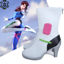 2017 New Cosplay Shoes D.VA DVA Hana Song Shoes New in Stock Halloween Christmas Party
