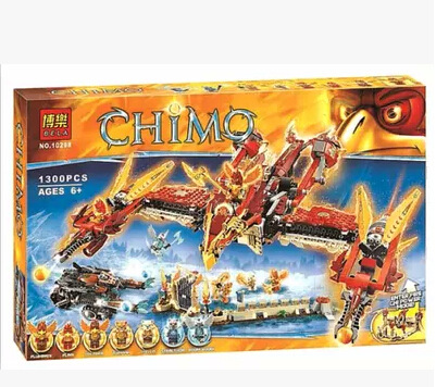 1300pcs lepin/bela/decool chimaed 2016 Qigong legendary animal Flying Phoenix Fire Temple Building Blocks Bricks original toys<br><br>Aliexpress