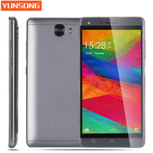 YUNSONG S11 Mobile Phone 5.0 inch 8MP camera MTK6580 Quad Core telephone Android 5.1 Dual Sim Cell Phone GSM/WCDMA 3G Smartphone(China)