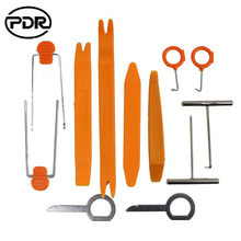 PDR Tools 12 PCS Car Radio Audio Door Clip Panel Trim Removal Car Refit Dismantle Removal Installer Tools With Original Box(China)