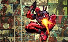 "Deadpool Poster Marvel Comic Movie Reprint Silk Posters Room Decor 40x24"" DED3 RT077"