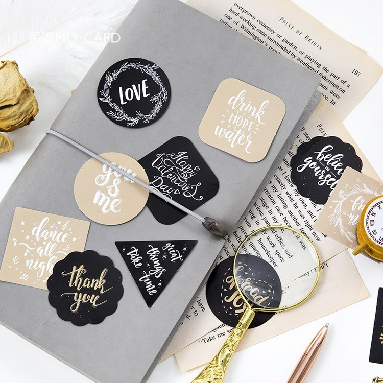 45pcs/box Make A Wish Mini Sticker Scrapbooking Diy Paper Label Diary Journal Stationery School Supplies