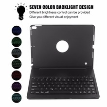 Super Slim Wireless Bluetooth Keyboard Portable Protective Case Aluminum Alloy Smart Connection For Ipad Pro 10.5