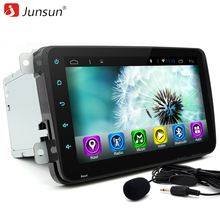 "Junsun 8"" 2 Din car DVD radio player Android 6.0 Double Din autoradio gps navigation Bluetooth wifi For VW volkswagen touareg(China)"