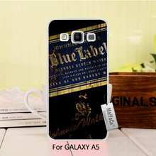 MaiYaCa Top Detailed Popular Black phone case For A5 2015 case Classic Whiskey Johnnie Walker Blue Label(China)