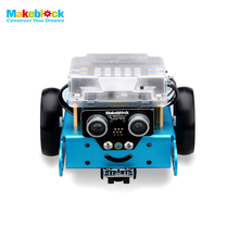New Education Toys Robot Makeblock MBot Upgrated Version DIY Mbot V1.1 Educational Robot Kit -Blue (Bluetooth Version) Kids Gift(China)
