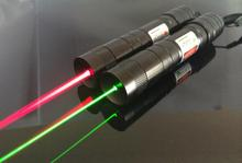 Buy Promotion! Mini Focus Burning 650nm 532nm 20000mw Red / Green Laser Pointer Burn Match Lazer Beam Military Range 10000m for $10.20 in AliExpress store