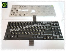 Russian Keyboard for ALIENWARE Area 51  M7700 Sager 4750 CLEVO D9T D900T D9K D900K  BLACK RU version