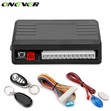 Onever Auto Car Alarm Systems Auto Remote Central Kit Door Lock Vehicle Keyless Entry System Central Locking with Remote Control(China)