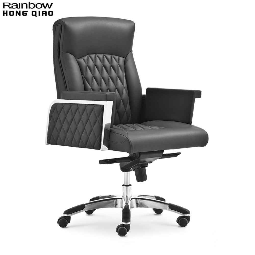 Big and Tall Computer Chair, High Back Executive Armchair With Synthetic Leather Upholstery, Luxury Modern Swivel Manager Chair(China (Mainland))