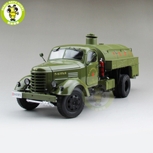 1/24 China JieFang FAW Fuel tank Truck car Diecast Model Car Gift Collection Hobby High Quality(China)
