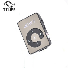 TTLIFE Big Promotion Mirror Portable MP3 Player Mini Clip MP3 Player Waterproof Sport mp3 Music Player Walkman Lettore mp3