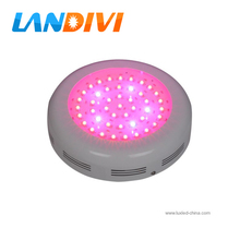 90-135w ufo led grow light 45*3w + 3W LED Red 660nm / Blue 460nm + 3 Years Warranty + FREE Shipping(China)