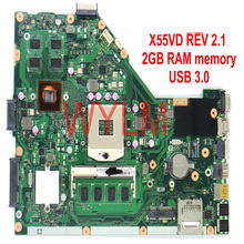 Buy X55VD Motherboard 2GB RAM memory ASUS X55V X55VD Laptop motherboard GT610M 1G REV 2.1/2.2 USB 3.0 1 fully tested for $69.89 in AliExpress store
