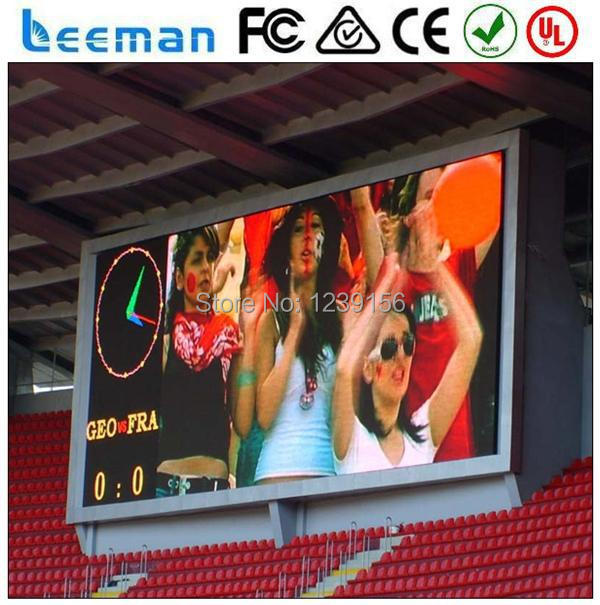 Sinoela Factory Price Top Quality P8 P10 P16 Outdoor Full Color Led TV Advertising Display video wall screen panel Leeman LED(China)