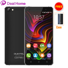 "Case)gift!OUKITEL C5 3G 5.0"" Android 7.0 3G 2GB+16GB 720*1280 HD  MTK6580 Quad Core 1.3GHz 5MP 2000mAh GPS Mobile Phone"