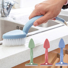 2 in 1 Double House Cleaner Washing Wall Brush With hand Home Windows and bathroom Clean Brush