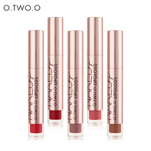 Lipgloss Matte Waterproof Lip Gloss Liquid Lipstick Long Lasting Lip Tint Stain Cosmetic Lip Tattoo 12 Color O.Two.O Makeup