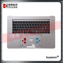 Genuine New Grey A1707 Top Housing US Keyboard 2016 Year For MacBook Pro Retina A1707 English Layout Cover Case Replacement