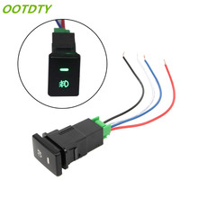 OOTDTY DC 12V Front Fog light Push Switch 4 Wire Button For Toyota Camry Prius Corolla(China)