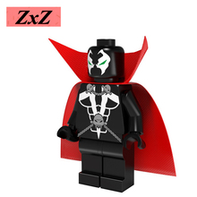 ZXZ Spawn Image Comics Malebolgia DIY blocks Super Heroes Single Sale Models & Building Toys Blocks For Children PG 053