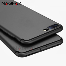 NAGFAK Matte Soft Silicone TPU Cover For iPhone 8 7 6 Plus X Case 8 7 6S 5 5S SE Cases Ultra Thin TPU For iPhone X 10 Phone Case
