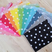 Free Shipping 25pcs/pack Polka dot Paper Bags Birthday Anniversary Party Supplies Loot Paper Bags