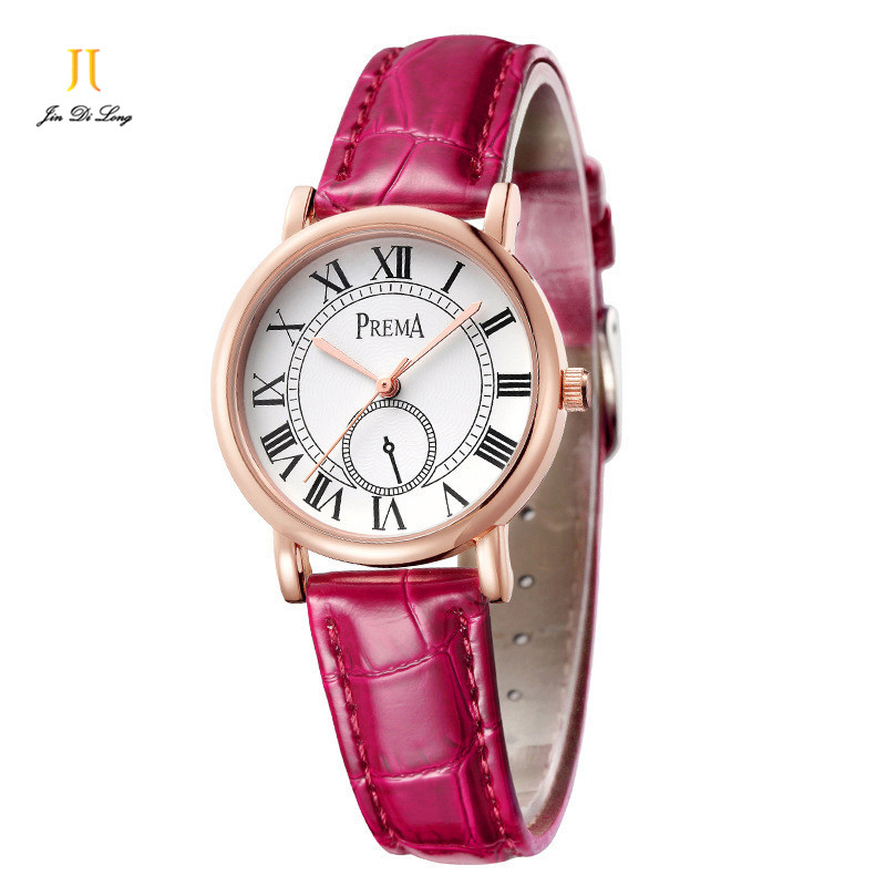 New Brand Fashion Casual Ladies Watch Women Quartz Analog Watches Diamond Leather Strap Wristwatch Luminous Waterproof<br>