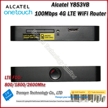 Wholesale Original Unlock Alcatel Y853 100Mbps 4G Router With Sim Card Slot And 4G LTE Mobile WiFi Hotspot
