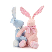 High Quality Plush Rabbit Bunny Stuffed Animal Toy Baby Brinquedos Birthday Gifts For Girls Kawaii Rabbit Stuffed Toy 70C0173