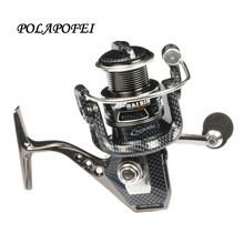 POLAPOFEI 10+1BB Bearing Balls spinning reel carbon fishing reel fit for shimano rod feeder fish coil olta makara F68(China)