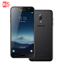 Buy Unlocked Original Samsung Galaxy C8 SM-C7100 3G RAM 32G ROM 16MP Front Camera dual sim Octa Core 4G Lte Smartphone mobile phone for $269.60 in AliExpress store