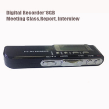 Professional Mini 8GB Digital Hidden Voice Recorder Pen USB Flash Driver MP3 Player Portable Audio recorder Sound Dictaphone