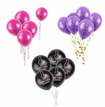 10pcs/lot Funny Abusive balloons Rude Brutal Willy Penis balloon Night Party Hen Wedding 10inch helium Ballon bride mariage toys(China)