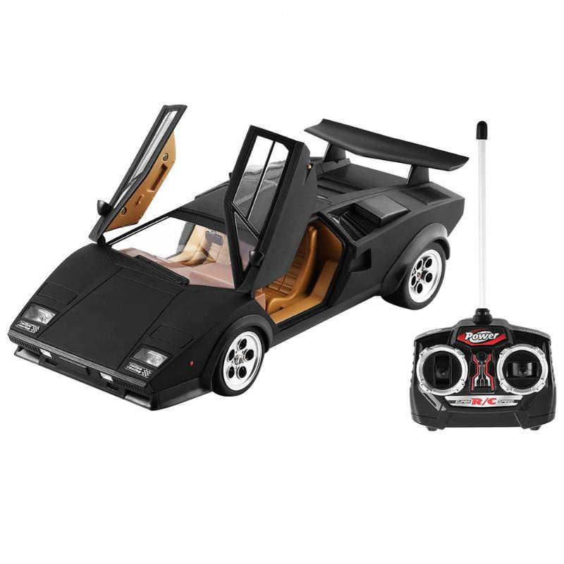 1:14 High Speed 8-10km/h Electronic RC Car Plastic Rechargeable Remote Control Simulation Vehicle Model Toy Kid Gifts