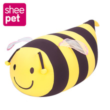 Sheepet Bees Plush Toy Big Bees Stuffed Puppy Dog Soft Particles Plush Animal Toy Pillow(China)