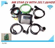 2017.09 latest software Top quality MB STAR C4 WITH HDD full-chip PCB 100% NEW NEC relays for All models Function mb star c4
