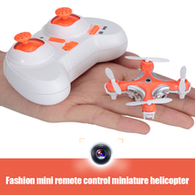 Mini 2.4G 4CH 6 Axis Gyro RC Helicopter Cheerson CX - 10C CX-10C CX10C Quadcopter Drone with 0.3MP Camera Remote Control Toys(China)