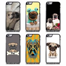 Pug Puppy Dog Cover Case for Samsung A3 A5 A7 2015 2016 2017 Sony Z1 Z2 Z3 Z5 Compact X XA XZ Performance(China)